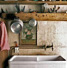 croft kitchen ... photo by Verne