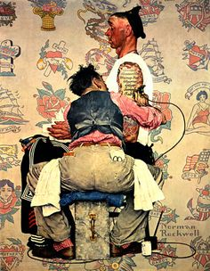 the tattooist, norman rockwell