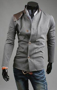 Men's Italian Cut Vintage Coat - Casual Knitting Slim Button Suit Top Design Coat Jacket Blazers on Etsy, $102.94