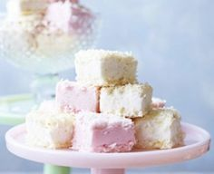 Coconut Ice marshmallows