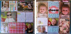 Project Life - Baby Album http://flutterbydesignz.blogspot.com.au/