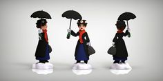 2.0 New Disney Infinity Characters | Mary Poppins from Mary Poppins