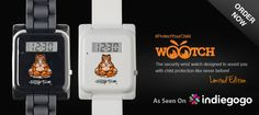 Did you know Wootch has a built-in 'FindMe' alert that will let you know if your child needs your immediate attention? Pre-Order your Limited Edition Buddha Tiger Wootch from only £30/$40. http://igg.me/at/wootch