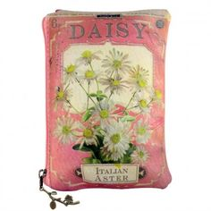 In Bloom Daisy Make Up Bag Front