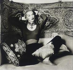 Lisa Fonssagrives shot in Morocco by her husband Irving Penn, for Vogue in 1951