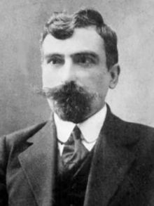 Aram Manukian (Armenian: Արամ Մանուկեան) (1879 – Yerevan, 29 January 1919), was an Armenian revolutionary, politician and military commander who was one of the leaders of the Van Resistance and instrumented the foundation of the First Republic of Armenia. Manukian joined the Armenian Revolutionary Federation at a very early age. He is credited as a political, military and spiritual leader of the Armenian people during and after the Armenian Genocide.
