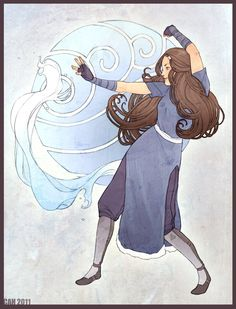 Katara by ~shiro on deviantART