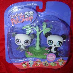Littlest Pet Shop Panda Pair #89 #90 LPS