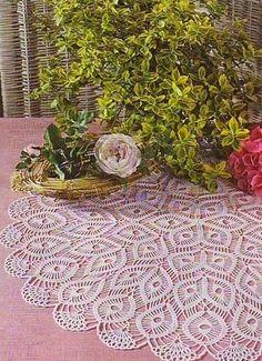 centrino rotondi | Hobby lavori femminili - ricamo - uncinetto - maglia