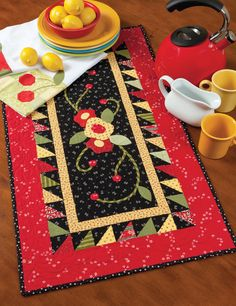 Martingale - Home Sweet Quilt - okay, I hafta make this!!  Kinda Mary Mary Engelbreit-like don't you think so, too??