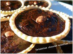 Tartelettes chocolat noisettes