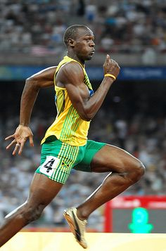 Usain Bolt may have been the only athlete who upstaged swimmer Michael Phelps in the recent Beijing Olympics. The Jamaican sprinter surprisingly set two individual world records in the 100 and 200 meters and was part of a 4×100 relay world record Jamaican team.