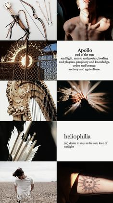 Be a true fan girl 🤩 Greece Mythology, Greek And Roman Mythology, Greek Gods And Goddesses, Apollo Aesthetic, Percy Jackson Art, Hades And Persephone, Aesthetic Collage, Heroes Of Olympus, Character Aesthetic