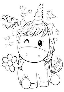 Dessins Mignons Chevaux Poneys Zebres Et Licornes Kids Coloring Books Unicorn Coloring Pages Kids Colouring Printables