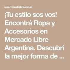 Encontrá Ropa y Accesorios en Mercado Libre Argentina. Descubrí 0c2a5c6c01fe