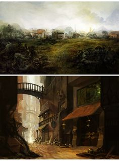 environments by melora.deviantart.com on @deviantART