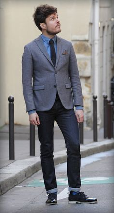 81db06b1383b Bonne Gueule, Tenue Homme, Style Homme, Idee Tenue, Tenues, Mode Homme
