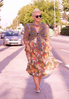 Clash of Prints + Gold and Silver Mixing | MIS PAPELICOS