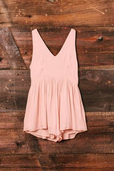 Pink Sea Breeze Romper ~ a simple romper to get me around on lazy Sunday.