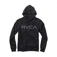 RVCA | Big RVCA hood Black