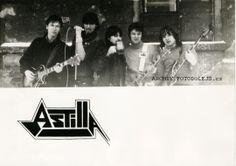1985 Plzeň, skupina Astilla, Emmer J, Baxa M., Emmer M., Viktora M, Dolejš P.