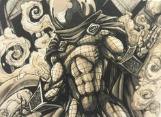 Mysterio marker value Markers, Spiderman, My Arts, Superhero, Projects, Fictional Characters, Sharpies, Spider Man, Marker