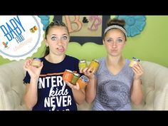 Baby Food Challenge  #babyfoodchallenge #brooklynandbailey #gross #babyfood #youtube #challenge