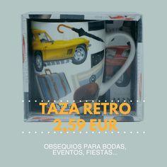 #taza #retro #regalos #fiestas #celebracion #bodas #economico