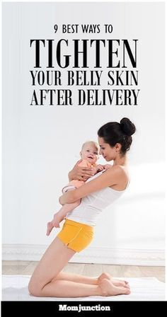 9 Effective Belly Skin Tightening Tips Post Pregnancy | Beauty Bazar #pregnancytips