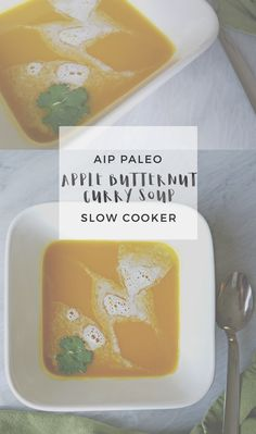Apple Butternut Curry Soup | Enjoying this Journey...