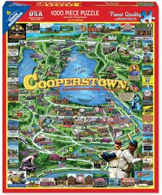 COOPERSTOWN NEW YORK - 1000 Piece Jigsaw Puzzle