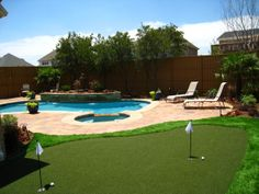 small backyard pool and grass design | backyard for entertaining - Pool Designs - Decorating Ideas - HGTV ...