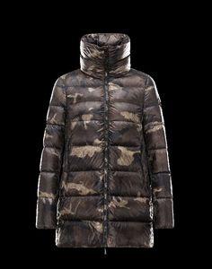 Moncler Mantel Fashion, Moncler TORCY Damen Mantel Für Sie Militärgrün Polyamid 41466447JO