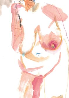 Experimental Life Drawing - Sarah Maycock