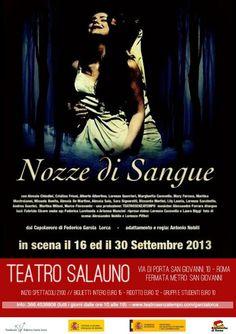 Nozze di Sangue (manifestazione 115 anni di Federico Garcia Lorca) - stagione teatrale 2013/ 2014