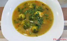 Kapustová polévka s houbami - eKucharka.cz Palak Paneer, Thai Red Curry, Ethnic Recipes, Food, Essen, Meals, Yemek, Eten