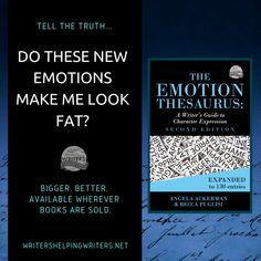 As you can imagine, we're pretty amped that The Emotion Thesaurus Second Edition is here. We hope you find those extra 55 emotions and double the teaching content is a big help as you craft stronger character emotion. Fat Character, Mother Lode, Writing Lines, Across The Universe, Tell The Truth, Knowing You, Things To Come, Product Description, Teaching