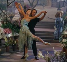 Leslie Caron and Gene Kelly in An American in Paris