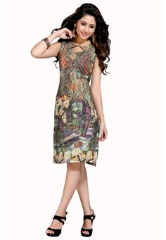 #Green Cotton Kurti! Green Cotton Printed Work Kurti.Product colour & Patch Patta may slightly vary due to photographic lighting sources or your monitor settings.  INR:770.00Only With Amazing Discount Shop Now at:https://goo.gl/YZMlRQ