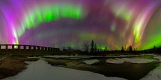 https://flic.kr/p/roPuPN | Auroral Explosion | Biggest and baddest auroral display I've seen to date, This is 180 degree pano shot with 14mm  and still I couldn't fit everything in the frame.