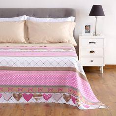 Copriletto Cannetè Love  #home #carillohome #shabbychic #copriletto #cameradaletto #bedroom #romantico #shabby #pinterest #pinit