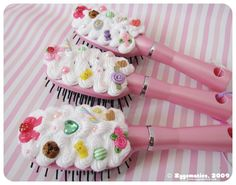 Hairbrushes Whipped cream by hullabalo0.deviantart.com on @deviantART