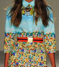 patternprints journal: PRINTS, PATTERNS AND SURFACE EFFECTS: BEAUTIFUL DETAILS FROM MILAN FASHION WEEK (WOMAN COLLECTIONS SPRING/SUMMER 2015) / 7