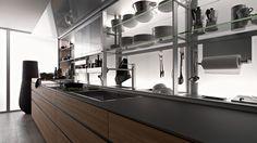 Valcucine: ergonomics in the kitchen and design tips   ..Kitchen ...