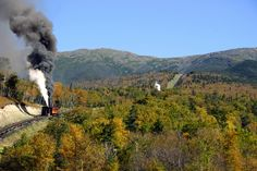 A train ride through New Hampshire Great Places, Places To See, Places Ive Been, Beautiful Places, Amazing Places, Waterville Valley, Mount Washington, New England Homes, White Mountains