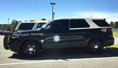 Florida, Florida Highway Patrol Ford Utility Interceptor vehicle.
