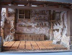 it forum topic. Nativity Stable, Diy Nativity, Christmas Nativity Scene, Christmas Villages, Diy Dollhouse, Dollhouse Furniture, Dollhouse Miniatures, Fontanini Nativity, Medieval Houses