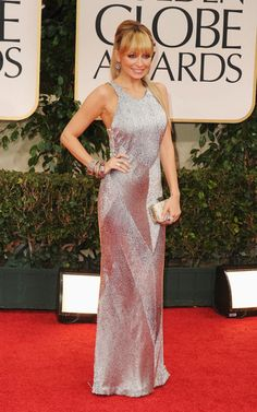 Another Red Carpet fave - Nicole Richie in Julien MacDonald at the Golden Globes 2012