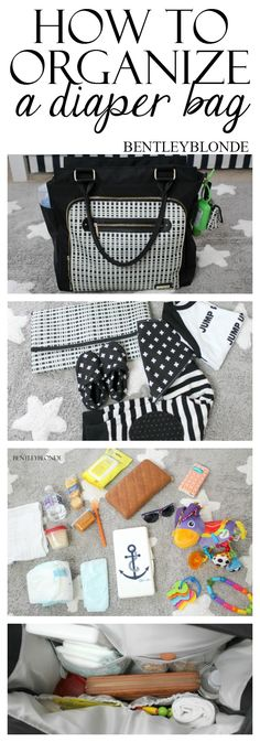 How To Organize your Diaper Bag!