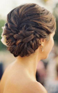 Hair for a wedding